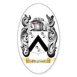 Ghiglione Sticker (Oval 10 pk)