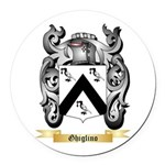 Ghiglino Round Car Magnet