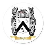 Ghiglia Round Car Magnet