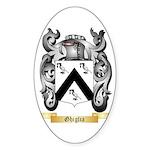 Ghiglia Sticker (Oval 10 pk)