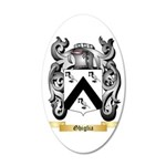 Ghiglia 35x21 Oval Wall Decal