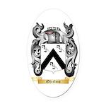 Ghielmo Oval Car Magnet