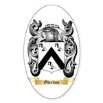 Ghielmo Sticker (Oval)