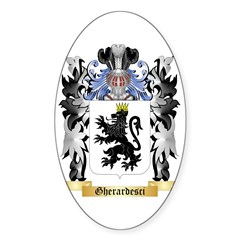 Gherardesci Sticker (Oval)