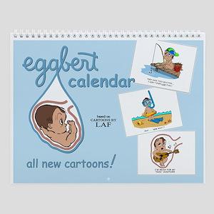 Eggbert (brunet) Wall Calendar