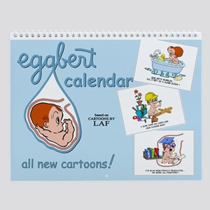 Eggbert (redhead) Wall Calendar