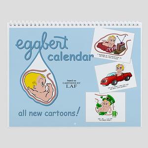 Eggbert (blond) Wall Calendar
