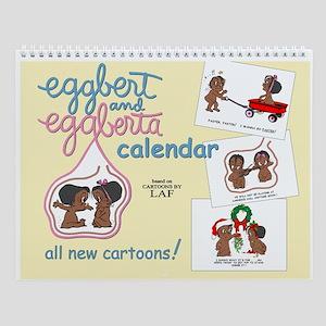 Eggbert and Eggbert Wall Calendar