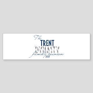 TRENT dynasty Bumper Sticker
