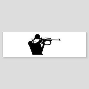 Biathlon shooting Sticker (Bumper)