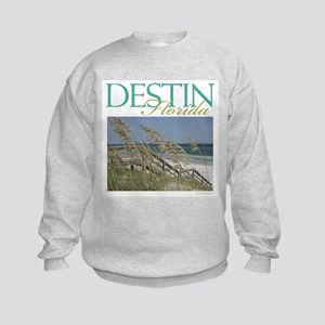 Destin Beach Access Kids Sweatshirt