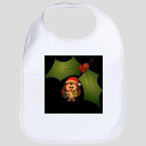 Christmas Owl Bib