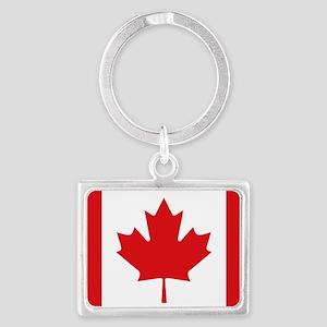 Canada National Flag Landscape Keychain