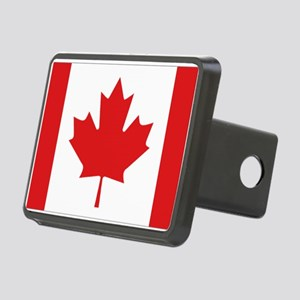 Canada National Flag Rectangular Hitch Cover
