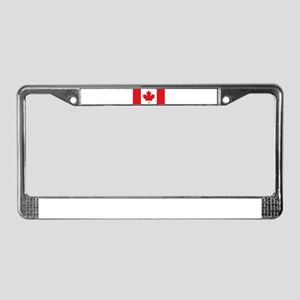Canada National Flag License Plate Frame