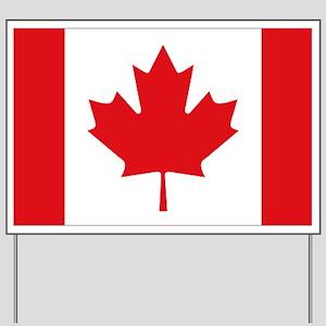 Canada National Flag Yard Sign
