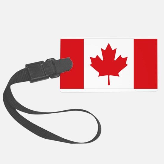Canada National Flag Large Luggage Tag