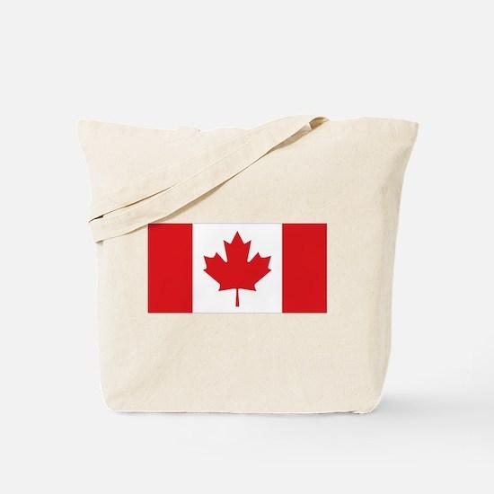 Canada National Flag Tote Bag