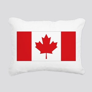 Canada National Flag Rectangular Canvas Pillow