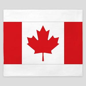 Canada National Flag King Duvet
