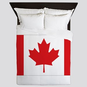 Canada National Flag Queen Duvet
