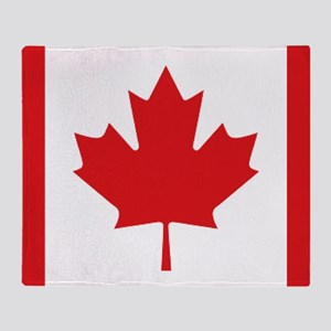 Canada National Flag Throw Blanket