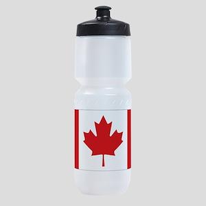 Canada National Flag Sports Bottle
