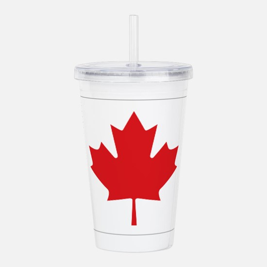 Canada National Flag Acrylic Double-wall Tumbler