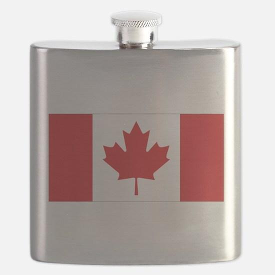 Canada National Flag Flask