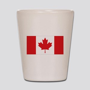 Canada National Flag Shot Glass