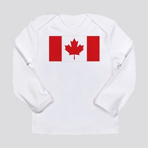Canada National Flag Long Sleeve Infant T-Shirt