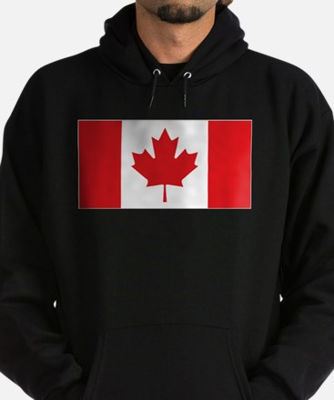 Canada National Flag Hoodie (dark)