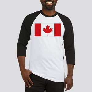 Canada National Flag Baseball Jersey