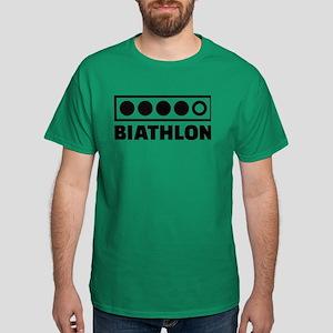 Biathlon target Dark T-Shirt