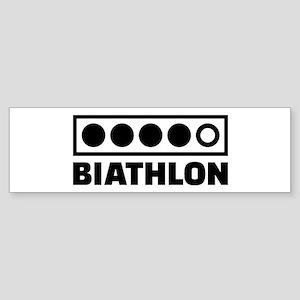 Biathlon target Sticker (Bumper)