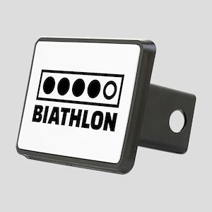 Biathlon target Rectangular Hitch Cover