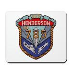 USS HENDERSON Mousepad