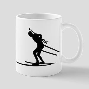 Biathlon skiing Mug