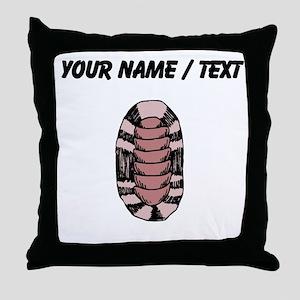Custom Limpet Sea Snail Throw Pillow