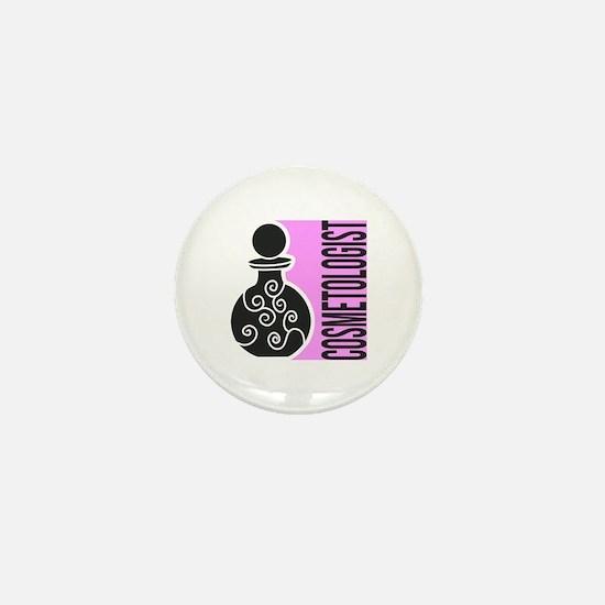 Cosmetologist Makeup Artist Mini Button