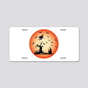 Halloween Party Aluminum License Plate