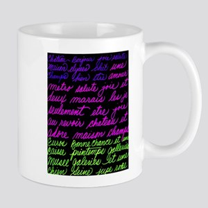 French-Words Mugs