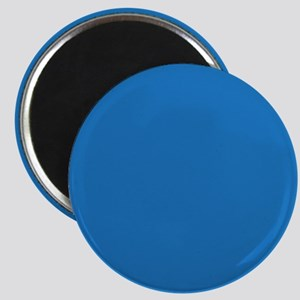 Bright Navy Blue Solid Color Magnets