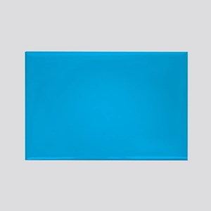 Azure Blue Solid Color Magnets