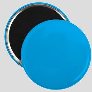 Azure Blue Solid Color Magnets