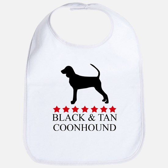 Black And Tan Coonhound (red  Bib