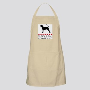 Black And Tan Coonhound (red  BBQ Apron