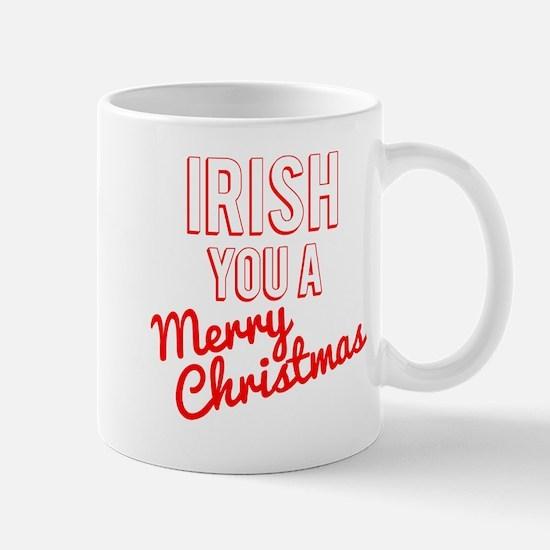 Irish You A Merry Christmas Mug