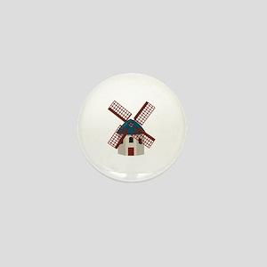 Windmill Mini Button