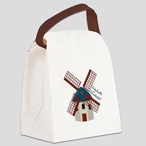 Wonderful Windmills Canvas Lunch Bag